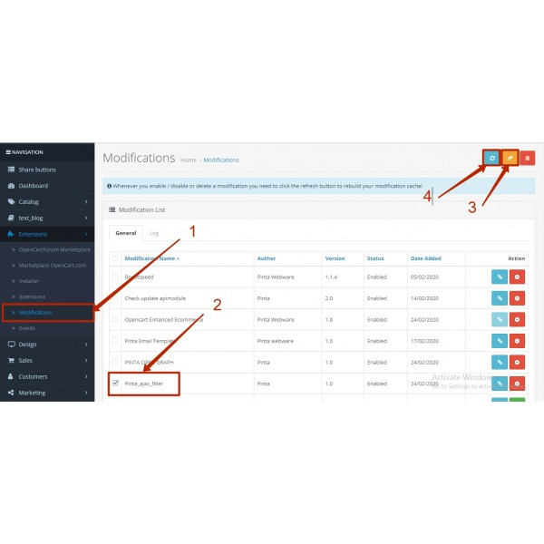 Ajax Filter with Seo Links (by attributes, options, brands,price, etc) for OpenCart (1.5x, 2.0, 2.3, 3.x)