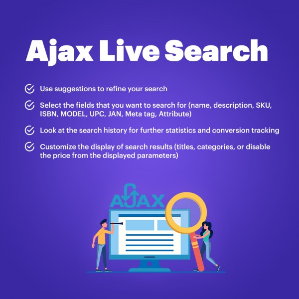 Ajax Live Search for PrestaShop - Smart, Instant, Responsive, Auto-Complete, Suggestion Search