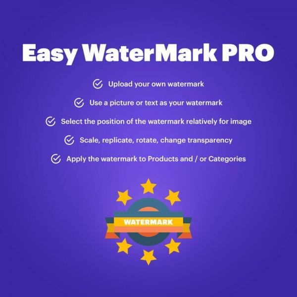 Easy WaterMark PRO for Prestashop