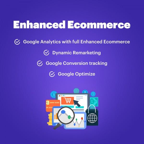 Enhanced eCommerce for Google Analytics PRESTASHOP