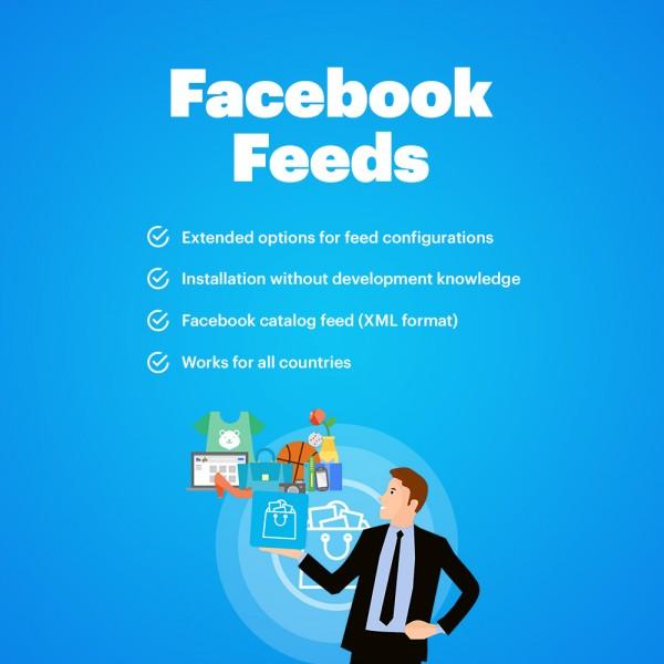 Facebook Catalog Feed (Facebook Store) Multi-vendor + Instagram Feed