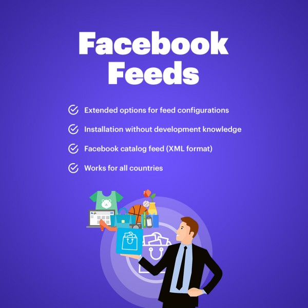Facebook + Instgram Catalog Feed Prestashop