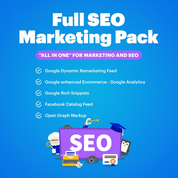 Full SEO and Marketing Pack for OpenCart 1.5-3.*