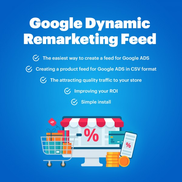 Google Dynamic Remarketing Feed for OpenCart (v. 1.5-3.x)