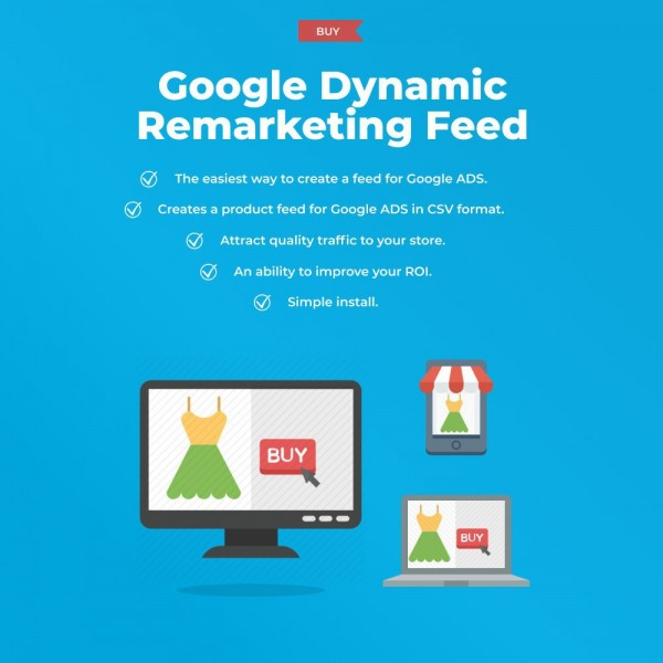 Google Dynamic Remarketing for OpenCart (v. 1.5-3.x)