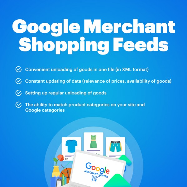 Google Merchant Shopping Feeds for Opencart