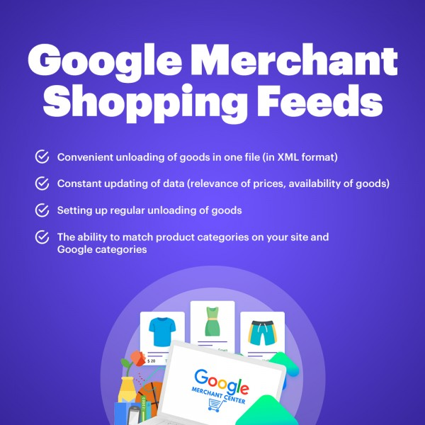 Google Merchant Shopping Feeds for PrestaShop 1.6-1.7