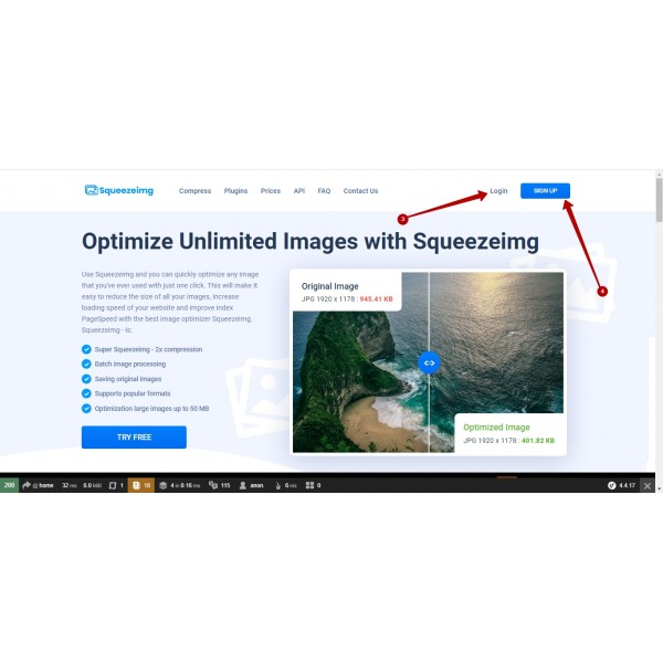 Image Compress with Squeezeimg for PrestaShop