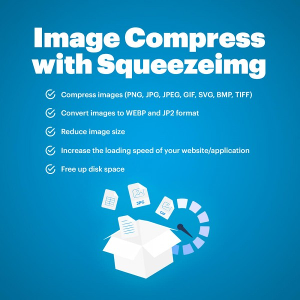 Image Compress with Squeezeimg for WordPress