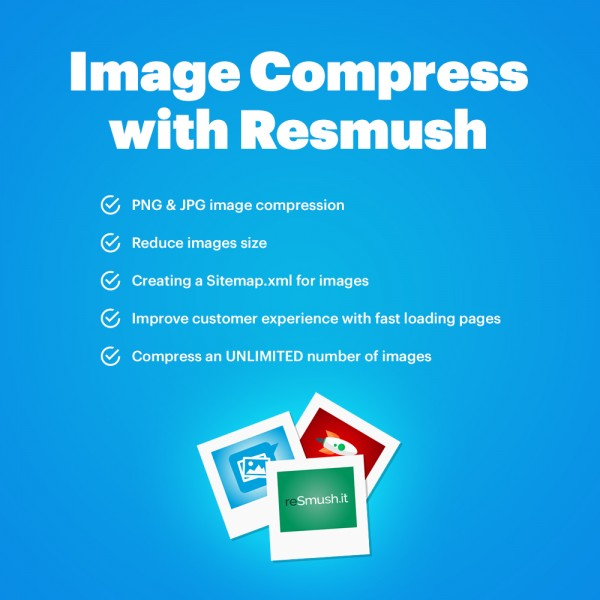 Image Compress with reSmush for Cs-cart