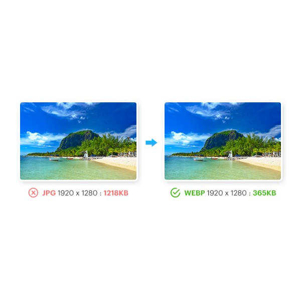 Images Convert: webp, jp2, lazy load, png & jpg compress for Magento