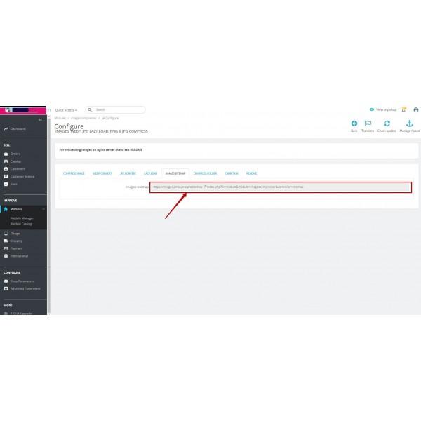 Images Convert: webp, jp2, lazy load, png & jpg compress for PrestaShop 1.6-1.7