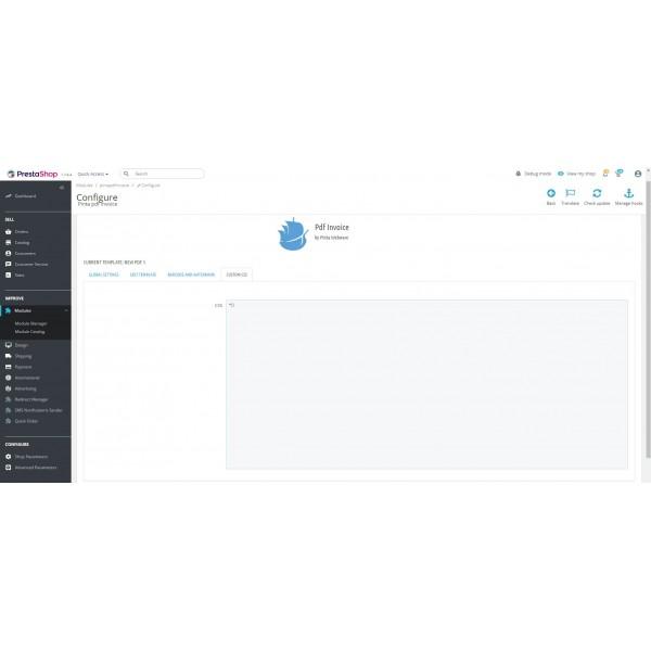 PDF Invoice to Order - Attach to Email for PrestaShop (v. 1.6-1.7x)