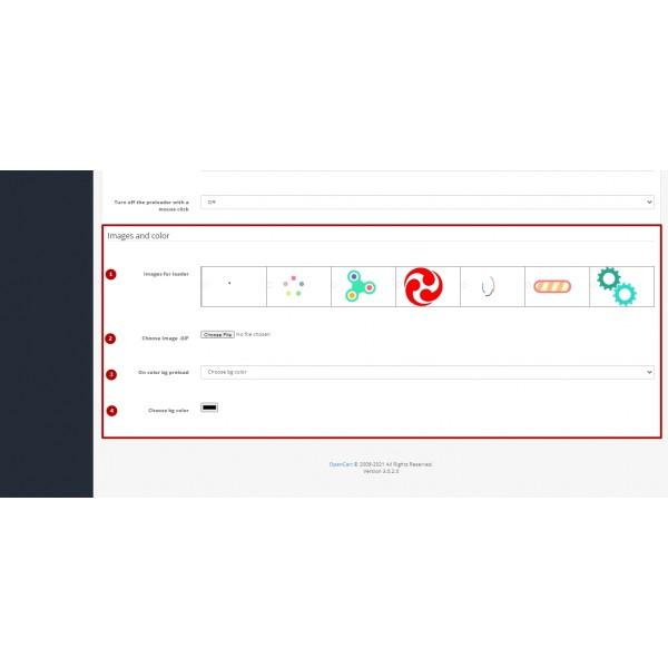 Page Preloader - Display Progress Bar (Animated Loader)  for OpenCart v. 2.*-3.*