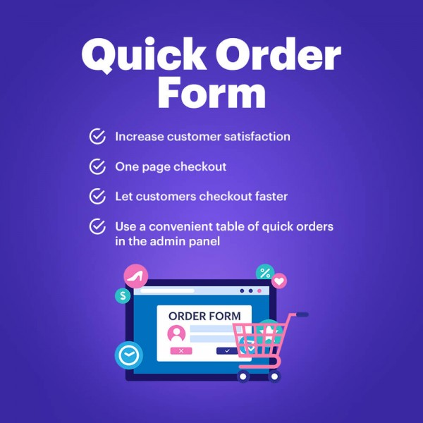 Quick Order Form - Easy Buy in one click for PrestaShop (v. 1.6-1.7*)
