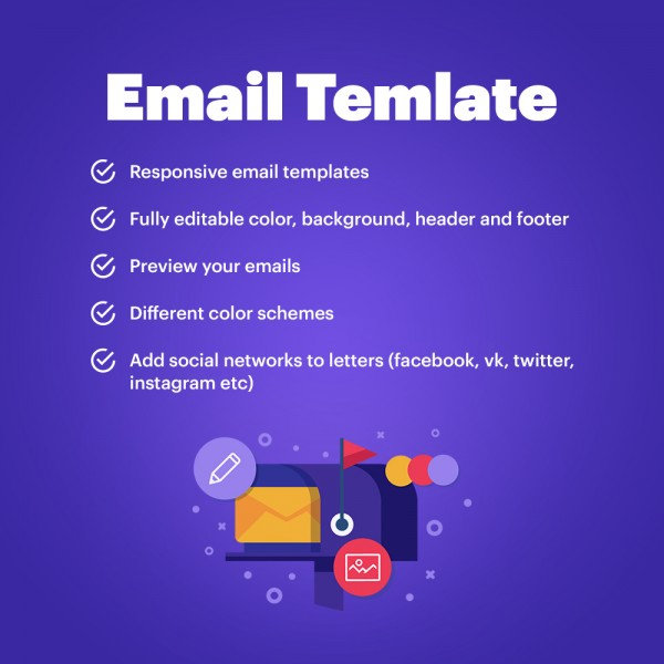 Responsive Pretty Emails PRESTASHOP