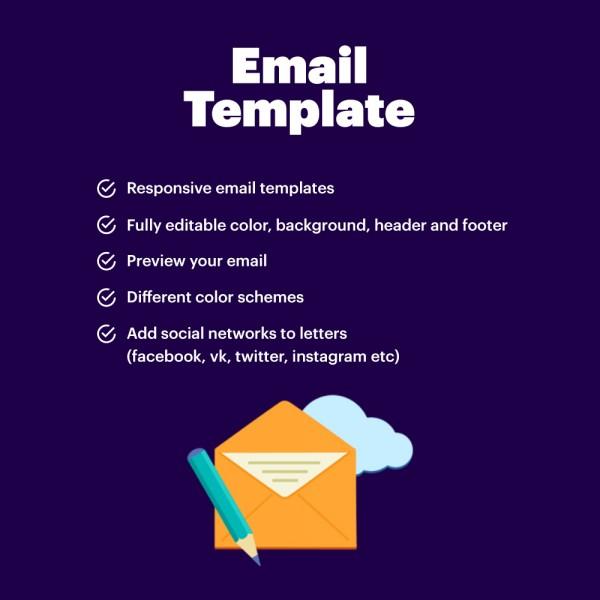 Responsive Pretty Emails PRESTASHOP