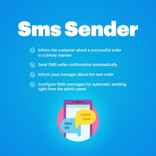 SMS Notifications Sender for CS-Cart