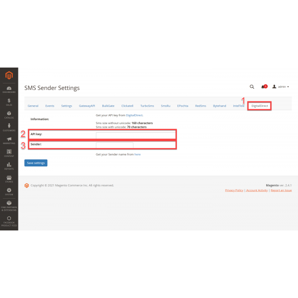 SMS Notifications Sender for Magento