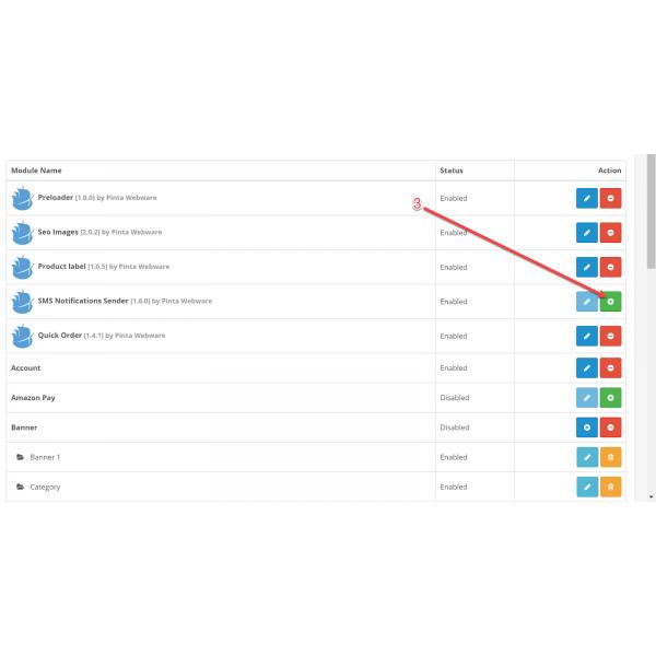 SMS Notifications Sender for OpenCart (v. 1.5-3.x)