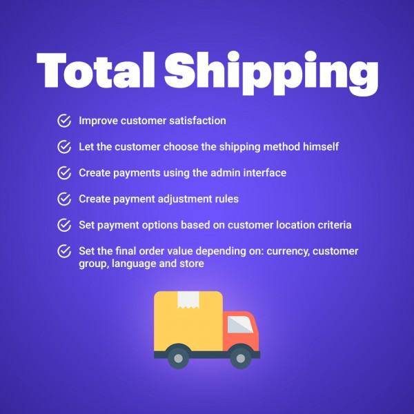 Total Costs with Shipping for Prestashop