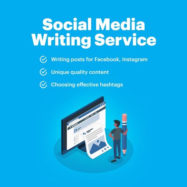 Social Media Writing Service