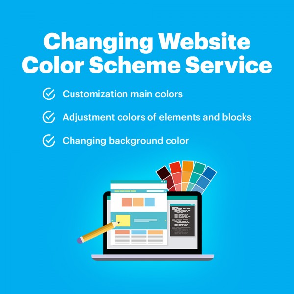 Changing Website Color Scheme Service
