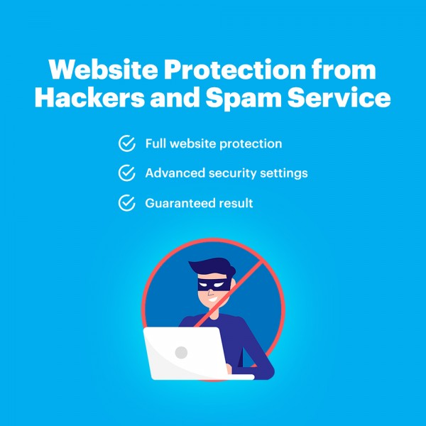 Website Protection from Hackers and Spam Service
