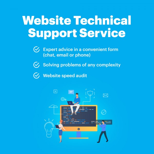 Website Technical Support Service