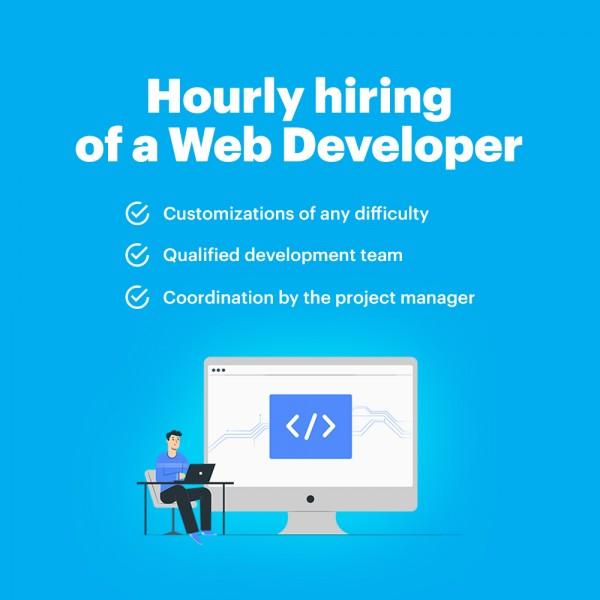 Hourly hiring of a Web Developer
