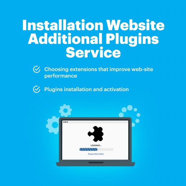 Installation Website Additional Plugins Service