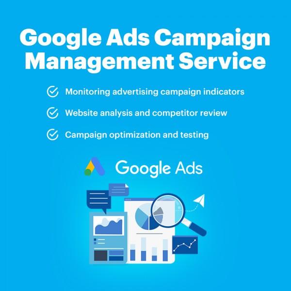 Google Ads Campaign Management Service