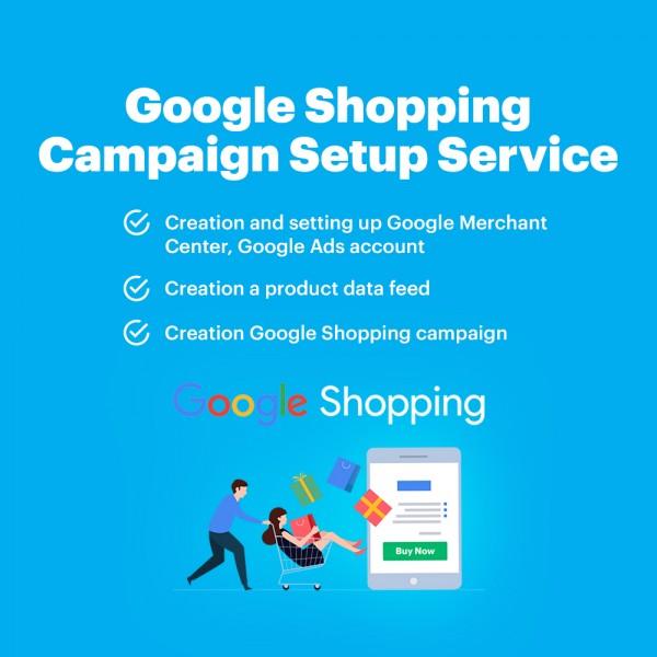 Google Shopping Campaign Setup Service